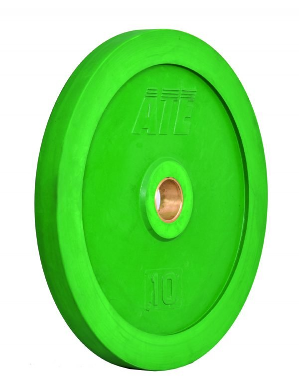ATE weightlifting bumper plates