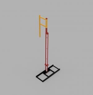 ATE pole vault standard steel