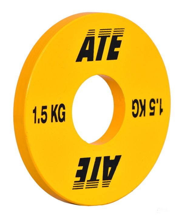 ATE weightlifting plates